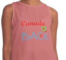 Canada Is Back Contrast Tank