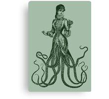 Lady Catherine Thulhu  Canvas Print