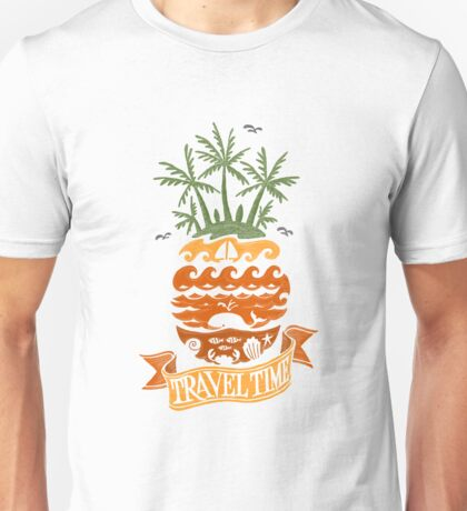 Travel Time Unisex T-Shirt