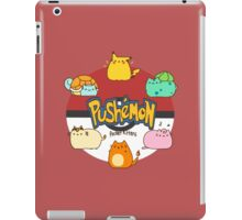 Pushemon! iPad Case/Skin