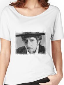 BOB DYLAN PORTRAIT Women's Relaxed Fit T-Shirt