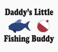 Daddy's little fishing buddy One Piece - Short Sleeve