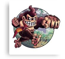 Donkey Kong is Here! Canvas Print