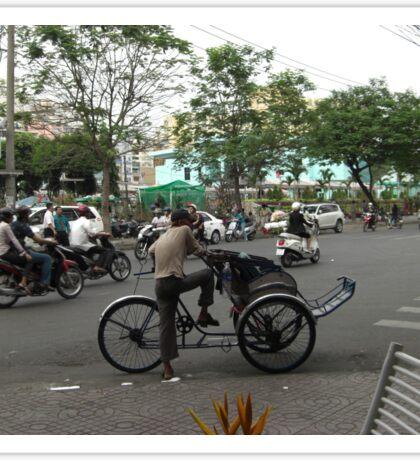Traffic in Ho Chi Minh Sticker