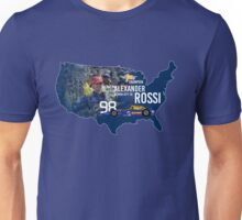 Alexander Rossi (USA Alt.) Unisex T-Shirt