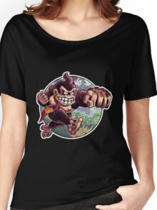 Donkey Kong is Here! Women's Relaxed Fit T-Shirt