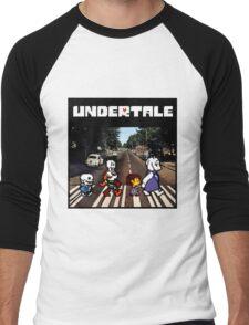 Undertale Abbey Road Men's Baseball ¾ T-Shirt