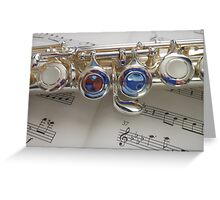 The Blue Notes Greeting Card
