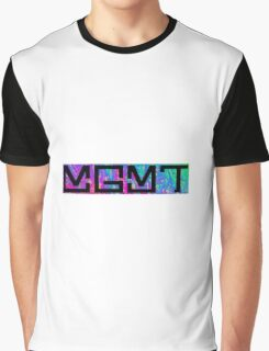MGMT Psychedelic Logo  Graphic T-Shirt
