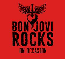 Supernatural Quote  Bon Jovi rocks Unisex T-Shirt