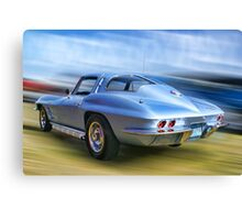 Speed,Style,......And Beauty ( 63 Vette ) Canvas Print