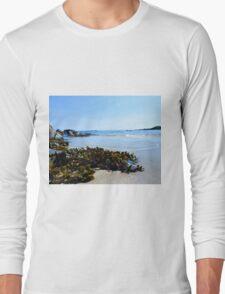 Isle of Tiree Scotland Beach View Long Sleeve T-Shirt