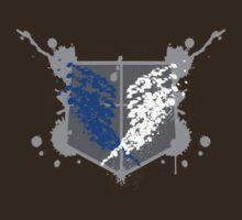 Survey Corps Paint Splat by Fu-Man-Chu
