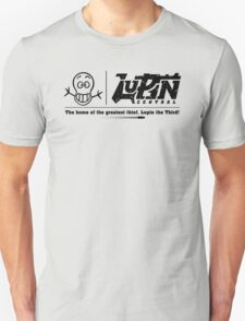 Lupin Central - Home is where our site is! T-Shirt