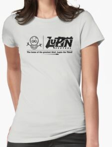 Lupin Central - Home is where our site is! Womens Fitted T-Shirt