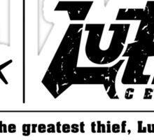 Lupin Central - Home is where our site is! Sticker