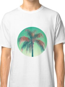 Red palm tree Classic T-Shirt