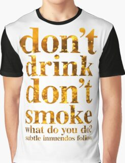 Drink Graphic T-Shirt