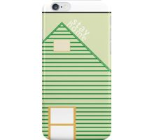 Stay Home, an american football tribute. iPhone Case/Skin