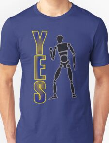 Yes! Fist pump - bright T-Shirt