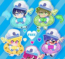 IWATOBI SWIM SAILORS by Mia ♡ Restrepo