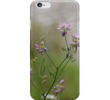 Crown Vetch by the lake iPhone Case/Skin