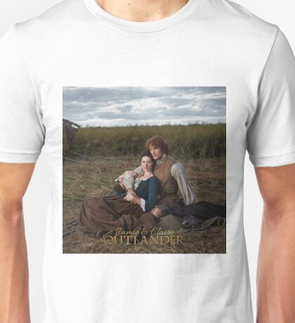 Outlander/Jamie and Claire  Unisex T-Shirt