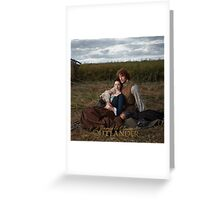 Outlander/Jamie and Claire  Greeting Card