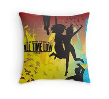 All Time Low, So Wrong It's Right Cushion Throw Pillow