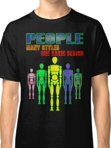 Many people, one design - bright Classic T-Shirt