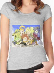 Chrono Friends Women's Fitted Scoop T-Shirt