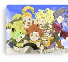 Chrono Friends Canvas Print