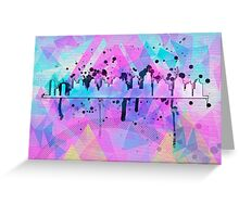 Graphic Style SKYLINE Greeting Card