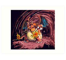 Charizard Art Print
