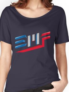EMF Electro Beach Festival Black Women's Relaxed Fit T-Shirt