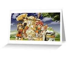 Chrono Family Greeting Card
