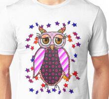 Owl bird exotic  Unisex T-Shirt