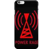 POWER RAGE iPhone Case/Skin