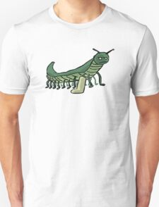 Broken Leg Caterpillar Unisex T-Shirt
