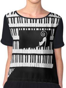 Piano Chiffon Top