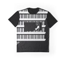 Piano Graphic T-Shirt