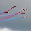 Hawk T1A  Red Arrows  by Declan Carr