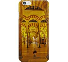 Arches and Pillars of The Mezquita, Cordoba, Spain iPhone Case/Skin