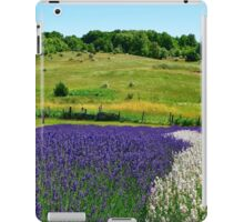Hilly Lavender Countryside iPad Case/Skin