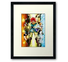 Chrono Delta Force Framed Print