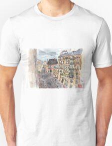Parisian View from the 5th Arrondissement  Unisex T-Shirt