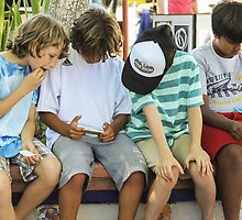 The Hi -Tech Generation... It's All in the Hand! by Heather Friedman