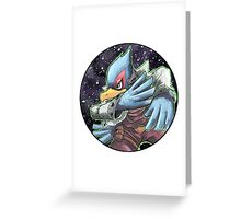 Falco Greeting Card