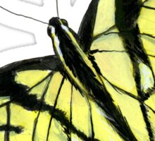 Swallowtail Butterfly Sticker Sticker