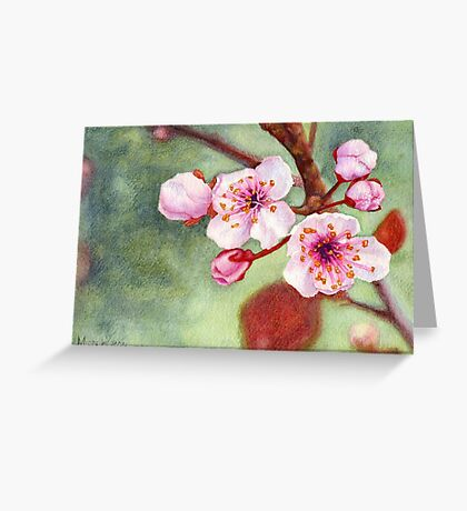 Blossoms 1 Greeting Card